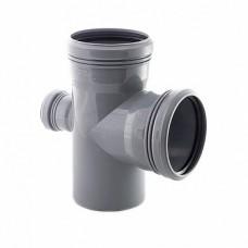 Крестовина одно-тная 110х50х90° для внутренней канализации