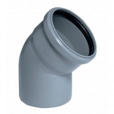 Отвод Ø32х45° Cиникон для внутренней канализации