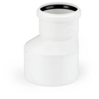 Переходник (рюмка) канализационный Rehau Raupiano Plus Ø 50/40