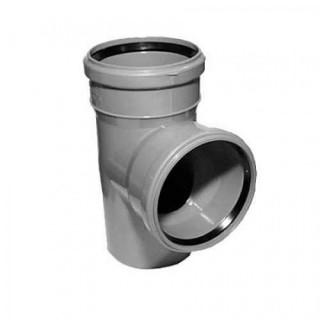 Тройник 90° Ø32/32 для внутренней канализации