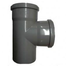 Тройник переходной 90° градусов Ø50/40 для внутренней канализации