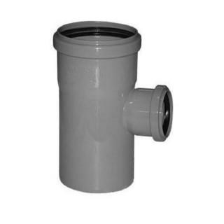 Тройник равнопроходной канализационный 90° градусов Ø40-40 RAUPIANO PLUS REHAU