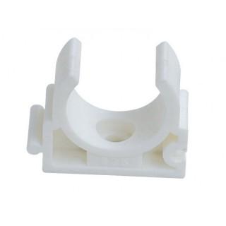 Крепление Kalde Ø20 мм белый полипропилен