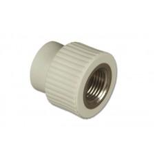Муфта комбинированная ПП FV-plast Ø20-3/4 с внутренней резьбой