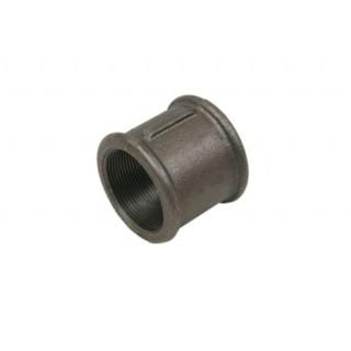 Муфта чугунная прямая Ø15 мм Fittex