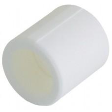 Муфта Кalde Ø90 мм белый полипропилен