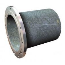 Патрубок ПФГ из ВЧШГ с цементно-песчаным покрытием Ду 100 -L1200мм неоцинкованный