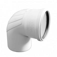 Отвод (Уголок) канализационный Rehau Raupiano Plus Ø110х67°