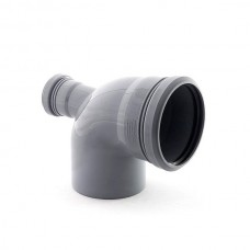 Отвод 110х50х90° градусов CЗАДИ для внутренней канализации
