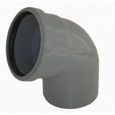 Отвод Ø40х90° для внутренней канализации