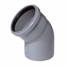 Отвод Ø50х90° для внутренней канализации