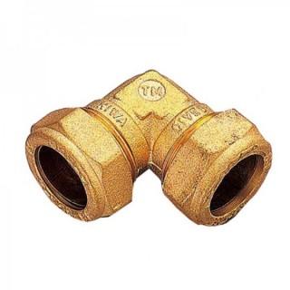 Угол обжимной соединительный TIEMME Ø 8-8 для медных труб