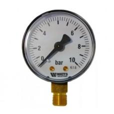 Манометр аксиальный WATTS F+R100 Ø63-1/4 10 bar