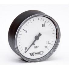 Манометр аксиальный WATTS F+R100 Ø63-1/4 16 bar