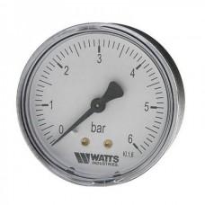 Манометр аксиальный WATTS F+R100 Ø63-1/4 6 bar