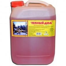 Теплоноситель для системы отопления ТЕПЛЫЙ ДОМ (Розовый) Этиленгликоль -65°С 10кг