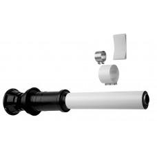 Вертикальный наконечник полипропилен для коаксиальной трубы, диам. 110/160 мм, BAXI, KUG71413341