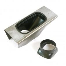 Изолирующая накладка для наклонных крыш, внутренний диаметр 125 мм, BAXI, KHG71409371