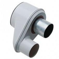 Адаптер для перехода с раздельных труб Диам 80 на коаксиальную трубу диам 125/80 НТ, BAXI, KHG71409381