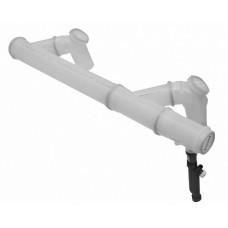 Дымоотв. комплект полипропиленовый для 2-х котлов диам. 200 мм, BAXI, 7107156