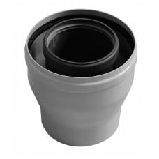 Коаксиальный переходник с диаметра 80/125 на диаметр 60/100, BAXI, KHG714119410