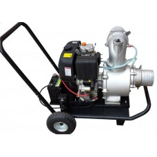 Мотопомпа дизельная Vodotok KDP60EX (электрический стартер)