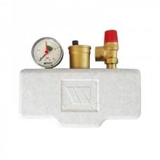 Группа безопасности котла с теплоизоляцией WATTS KSG 30 ISO2 до 50 кВт (10005227)