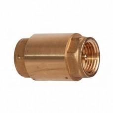 """Обратный клапан латунный с металлическим седлом 3/4"""""""