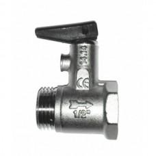 """Предохранительный клапан для водонагревателя (рукоятка) 367 1/2""""  """"ITAP"""""""