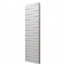 Радиатор биметаллический ROYAL Thermo PianoForte Tower, Silver Satin - 22 секции