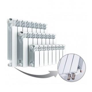Радиатор биметаллический RIFAR Base Ventil 350 12 секций с нижним левым подключением