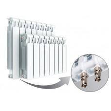 Радиатор биметаллический RIFAR Monolit Ventil 350 4 секции с нижним левым подключением