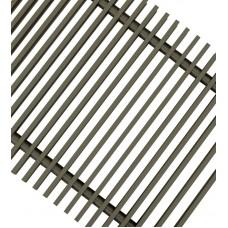 Решетка для напольных конвекторов ТЕМНАЯ БРОНЗА ESSAN PPA 250x4600 мм
