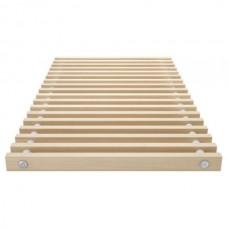 Решетка для напольного конвектора деревянная ESSAN PPД 350x4000 мм (Цвет Сосны)