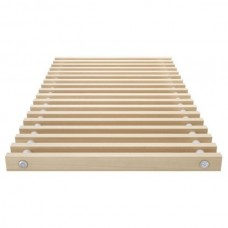 Решетка для напольного конвектора деревянная ESSAN PPД 350x2500 мм (Цвет Сосны)