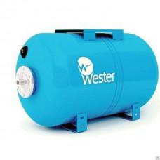 """Гидроаккумулятор горизонтальный (Бак для водоснабжения) """"WESTER"""" WAO 24 литров"""