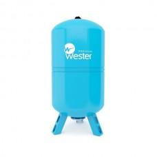 """Гидроаккумулятор вертикальный (Бак для водоснабжения) """"WESTER"""" WAV 100 литров"""