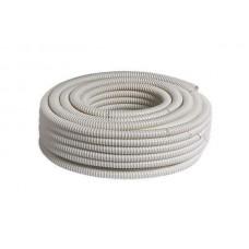 Шланг дренажный для кондиционера армированный спиралью БЕЛЫЙ -16 мм (25м)