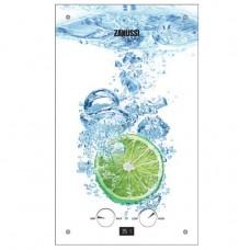 Газовая колонка проточная ZANUSSI GWH 10 Fonte Glass Lime, водонагреватель