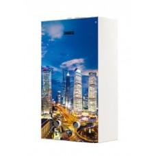 Газовая колонка проточная ZANUSSI GWH 10 Fonte Glass Metropoli, водонагреватель