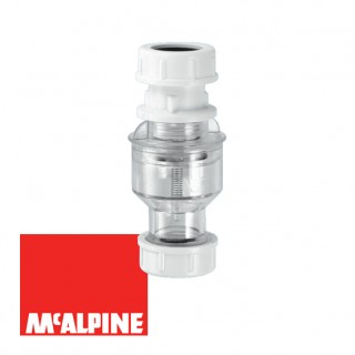 Канализационный обратный клапан вертикальный McAlpine TUN5-CL