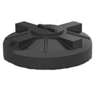 Крышка для баков D355мм черная