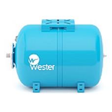 """Гидроаккумулятор горизонтальный (Бак для водоснабжения) """"WESTER"""" WAO 50 литров"""