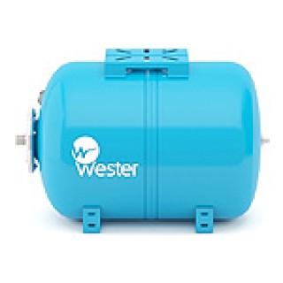 """Гидроаккумулятор горизонтальный (Бак для водоснабжения) """"WESTER"""" WAO 100 литров"""