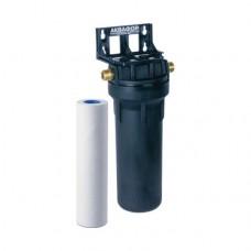 Корпус водоочистителя (черный) 10SL для горячей воды Аквафор АКВАБОСС-1-02