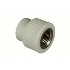 Муфта комбинированная ПП FV-plast Ø20-1/2 с внутренней резьбой