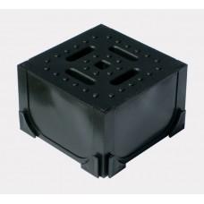 Угловой элемент для пластиковых лотков 125х125