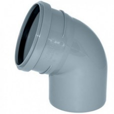 Отвод Ø40х67° для внутренней канализации