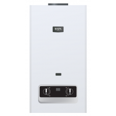 Проточный газовый водонагреватель 22кВт Turbo RISPA серии «Master» (Белый)